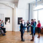 Prize-giving ceremony in Goethe-Institut, Prague.
