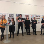 Opening of an exhibition in Leipzig, Germany – Consecutive interpreting, Czech-German