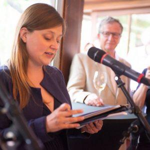 An event organized by Friedrich-Ebert Stiftung in Prague, consecutive interpreting Czech-German.